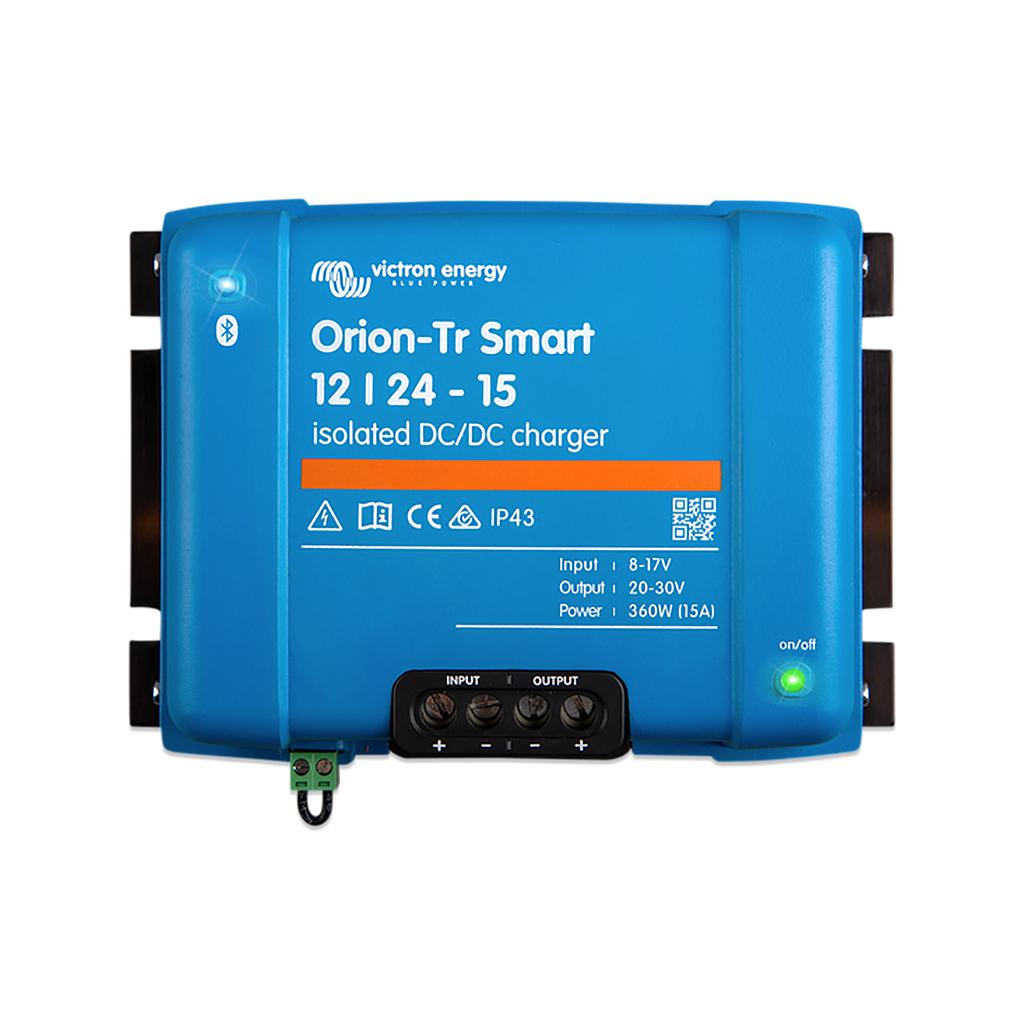 Orion-Tr Smart 12/24-15A (360W) Isolated DC-DC charger - SBP Electrical