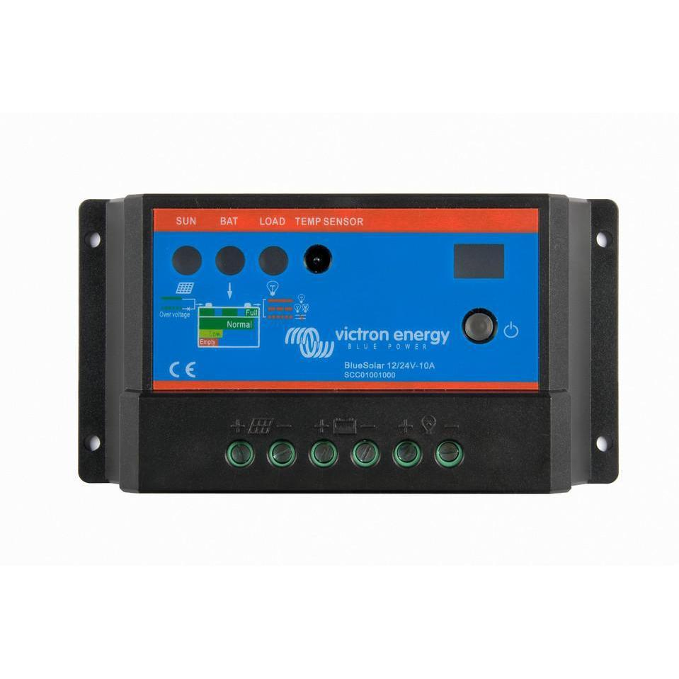 BlueSolar PWM-Light Charge Controller 12/24V-10A - SBP Electrical