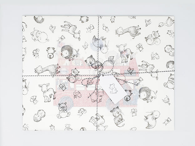 daisy and bump custom gift wrap paper
