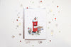 Posting Letters To Santa Kids Christmas Card
