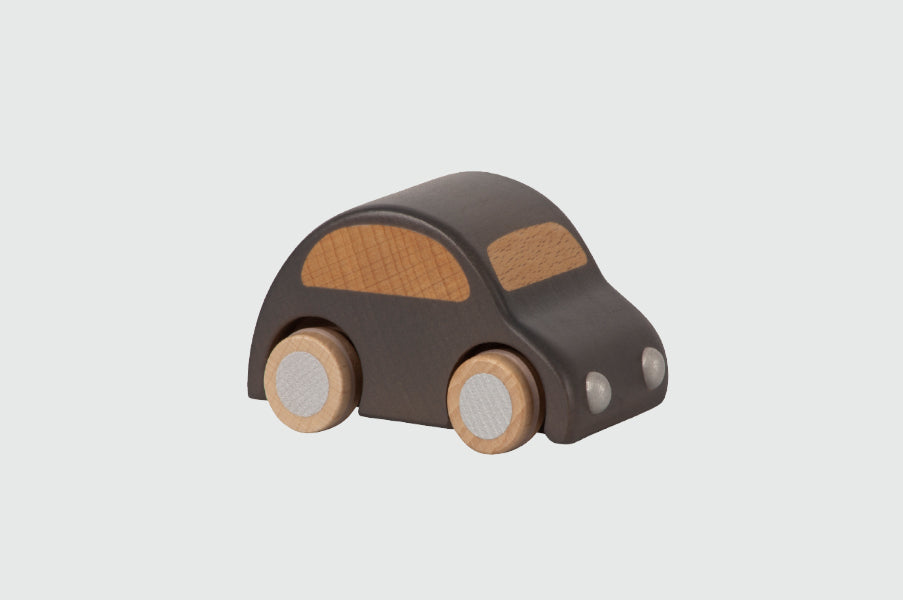 Maileg Anthracite Black Wooden Car toy