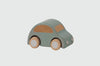 Maileg Kid's pull and go Blue Wooden toy Car