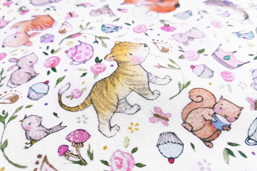 Children's Enchanted Cotton Fabric