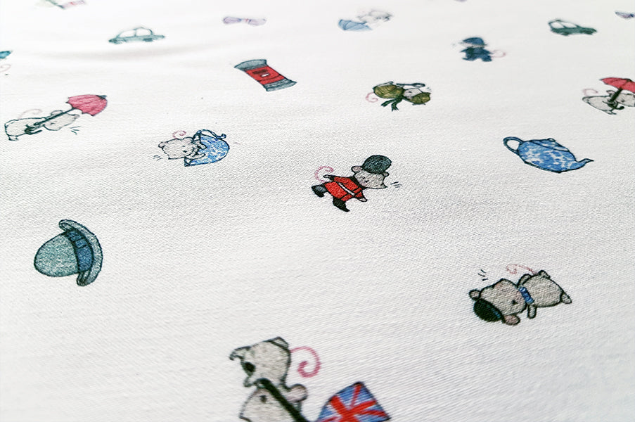 Children's London Cotton Fabric