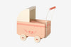 Maileg wooden blush powder pink toy pram