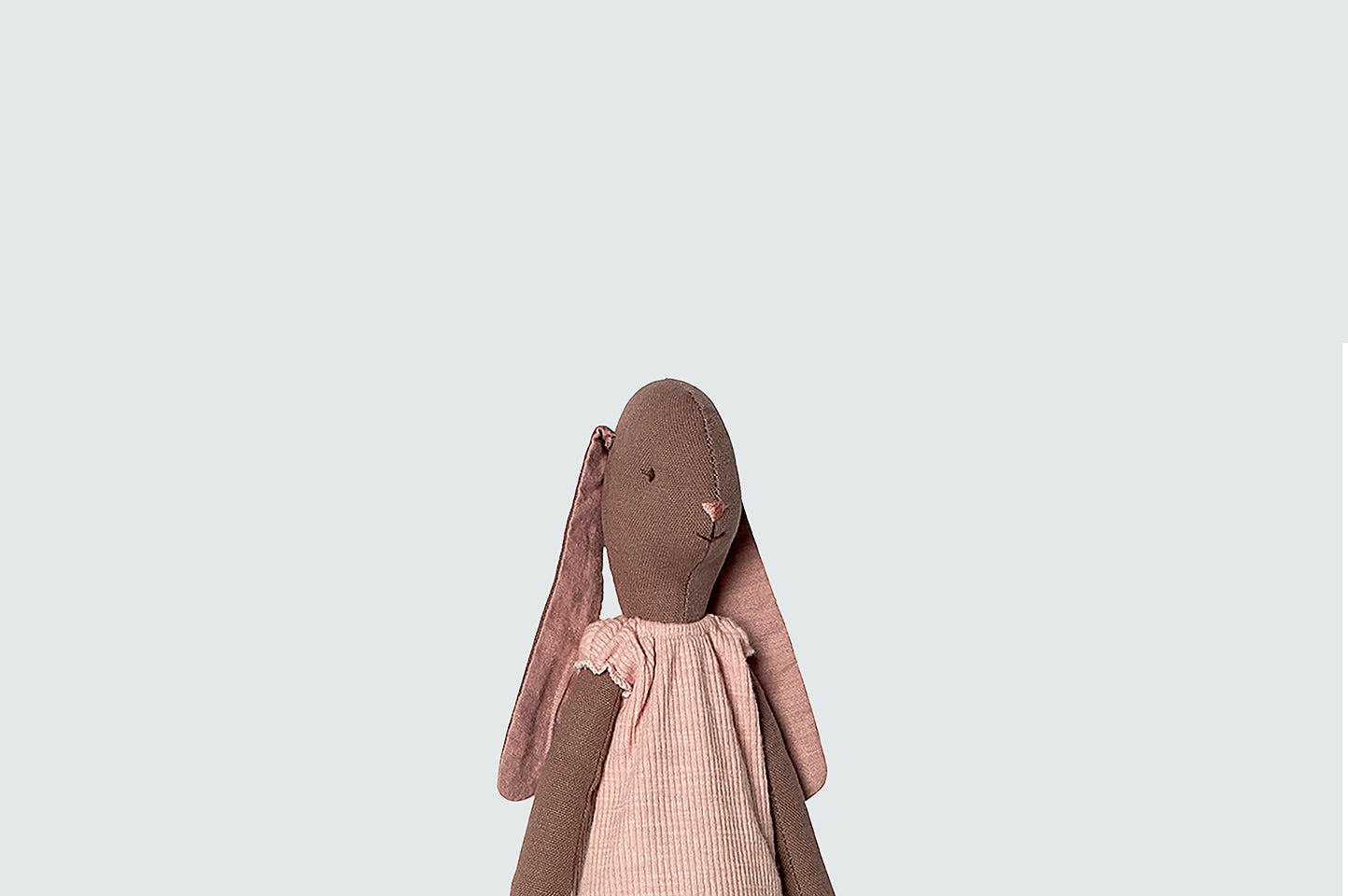 Maileg Medium Girl Bunny Brown Toy