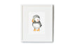 Newborn Baby Puffin Nautical Nursery Picture