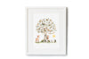 Children's Personalised Pear Tree Print