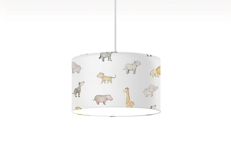 Children's Safari Animal Lampshade