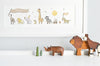 Children's Personalised Safari Parade Picture