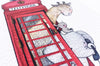 British Red Telephone Box Print for a Kid's Room