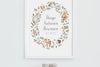 Children's Autumn Woodland Wreath Quote Picture