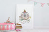 Big Princess Carriage Picture for Girl's Room
