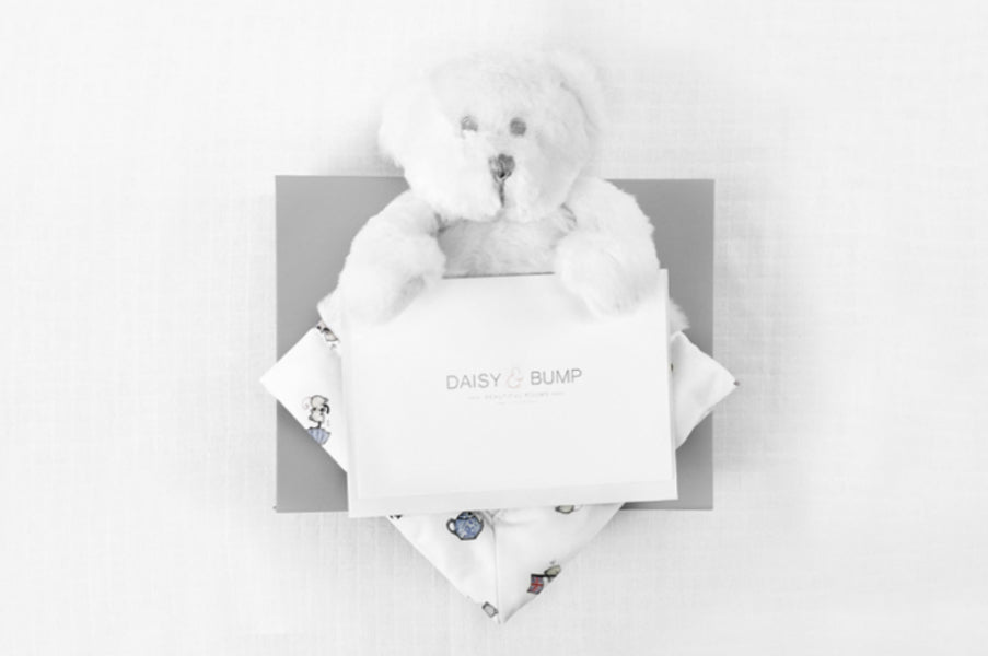 Bear Voucher Gift Box for a Newborn Baby