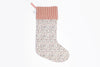 Children's large luxury Personalised traditional Christmas stocking