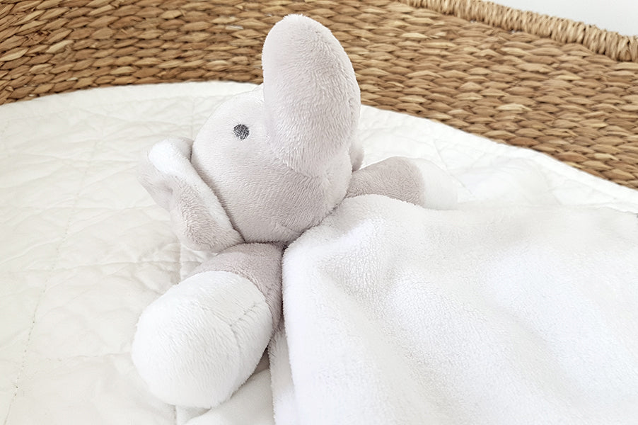 Baby Elephant Comforter Soft Toy