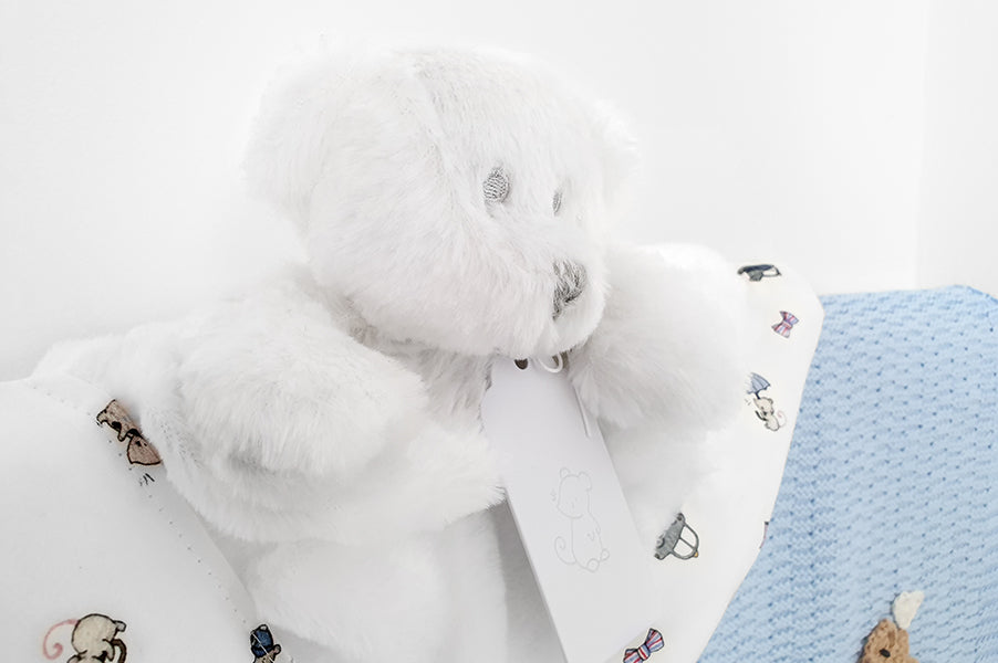 London Bear Comforter for Newborn Baby