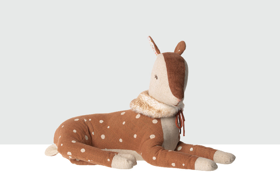 Maileg Big Bambi Children's Soft Deer Toy