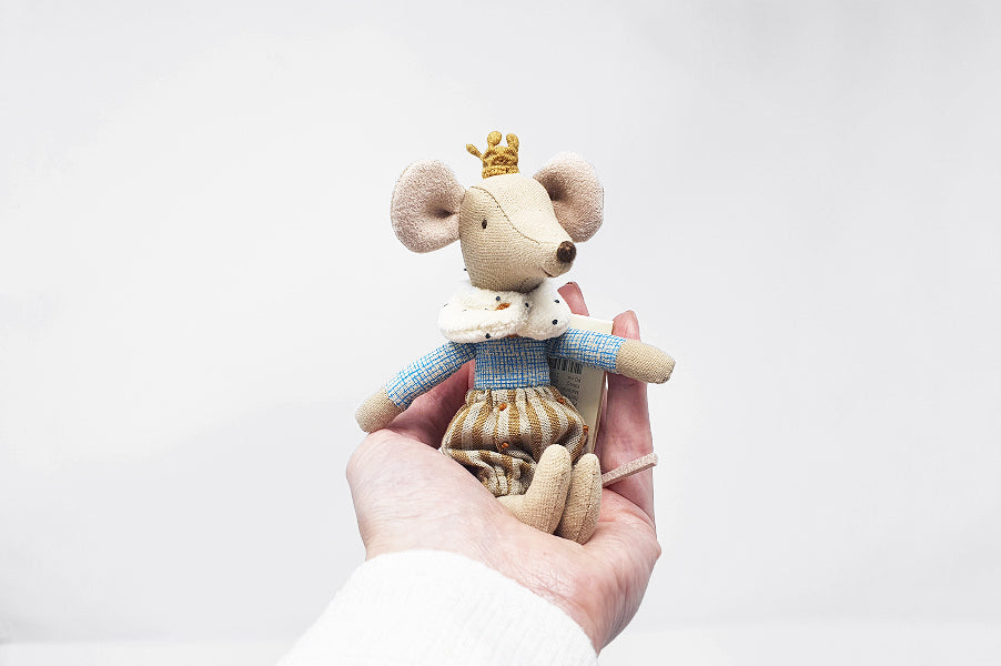 Maileg prince mouse soft toy