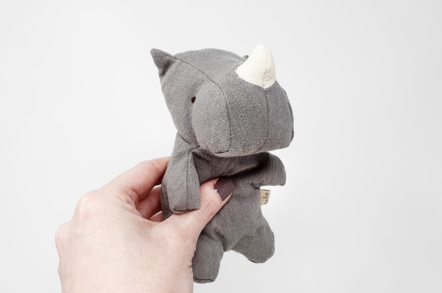 Maileg Mini Rhino Soft Kid's Toy