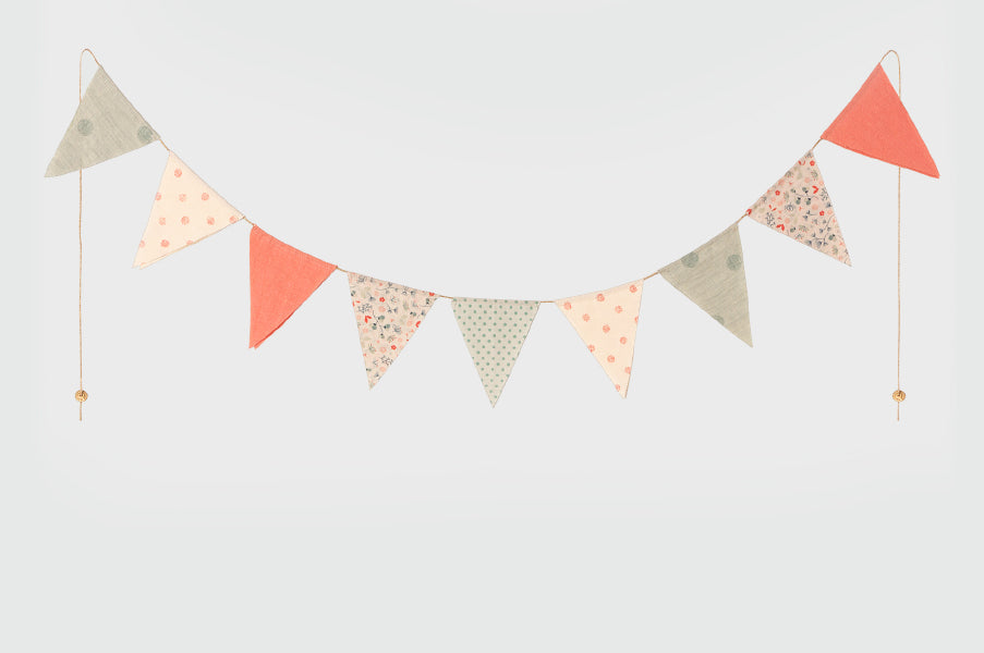 Maileg Cotton Bunting Children's Room Decoration