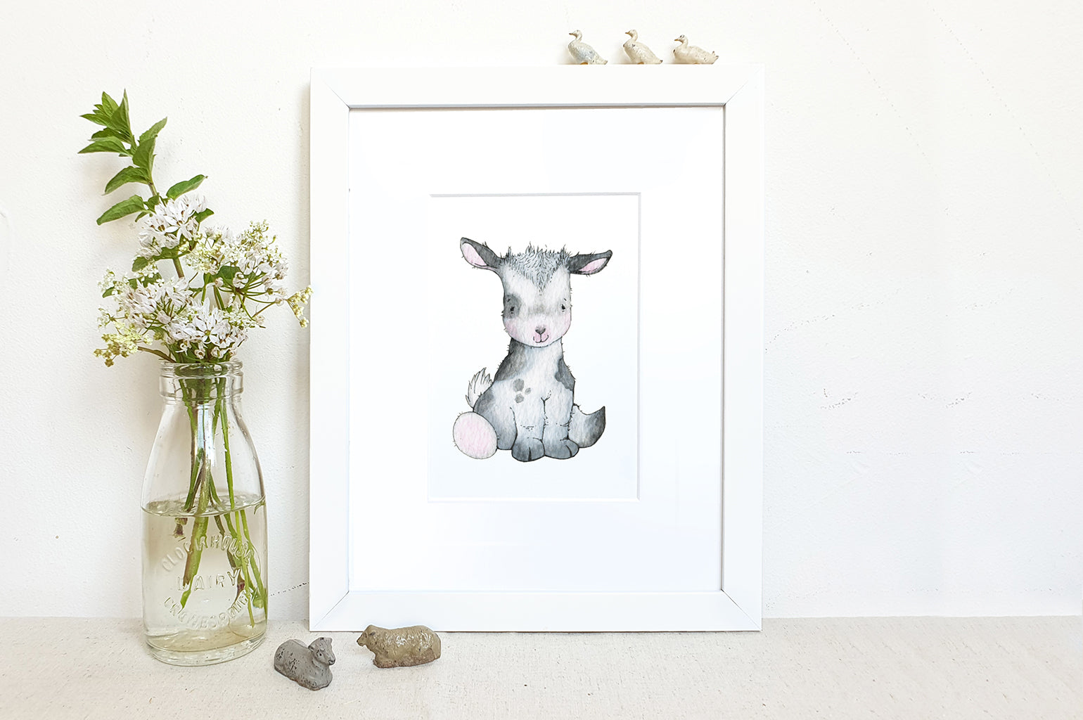 Children's Newborn Baby Goat Picture