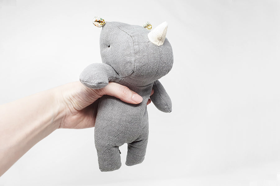 Maileg Small Rhino Soft Children's Toy