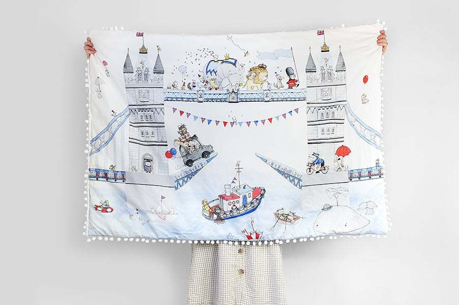 Boy's London Tower Bridge Playmat