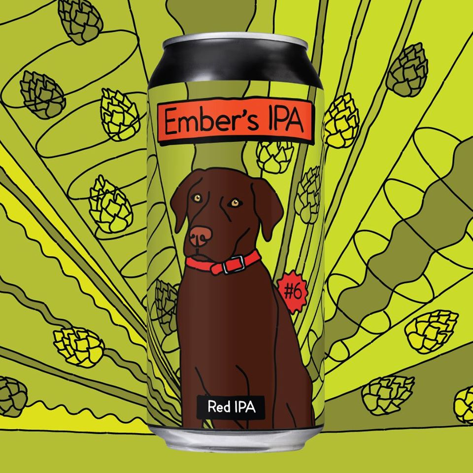 Ember's Red IPA 440ml Cans - Single/4 Pack