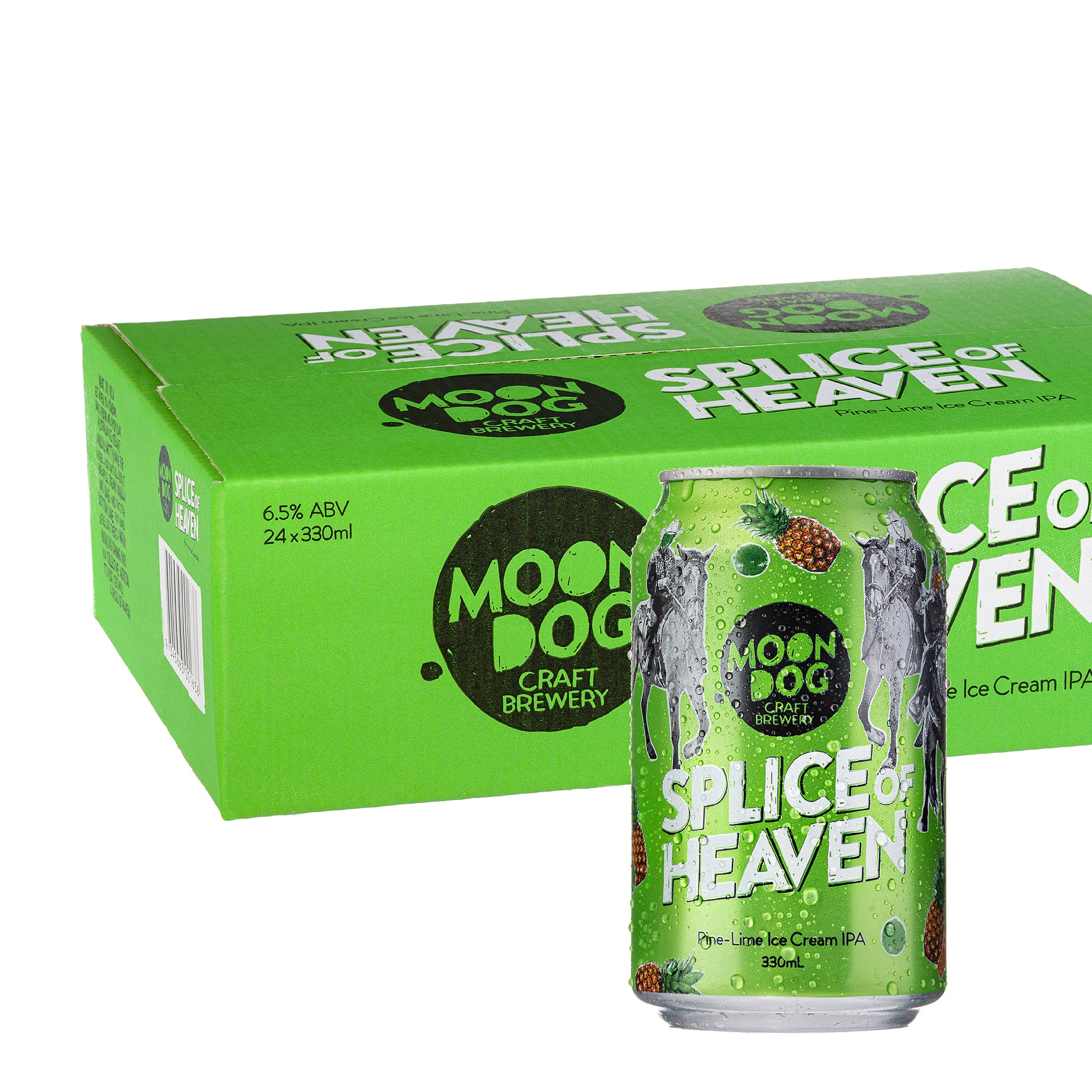 Splice of Heaven Pine-Lime Ice Cream IPA 330ml Cans - 4/24 Pack