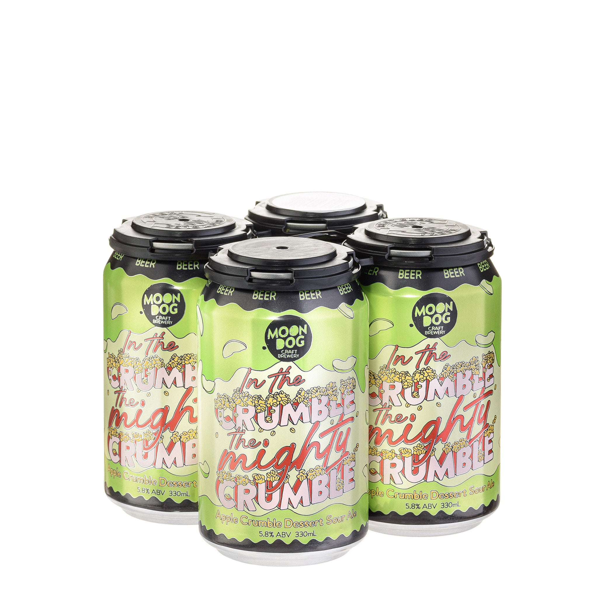 In the Crumble the Mighty Crumble Apple Crumble Dessert Sour Ale 330ml Cans - 4/24 Pack