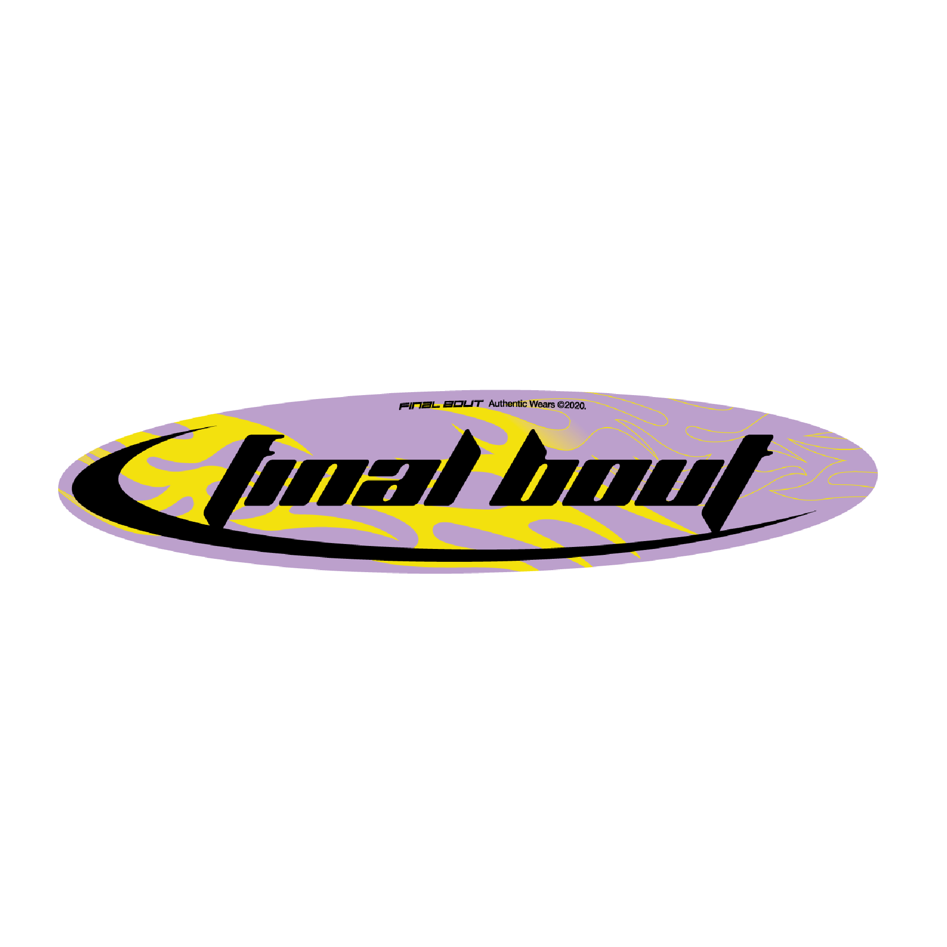 Final Bout Sticker - Techno [Color Options]