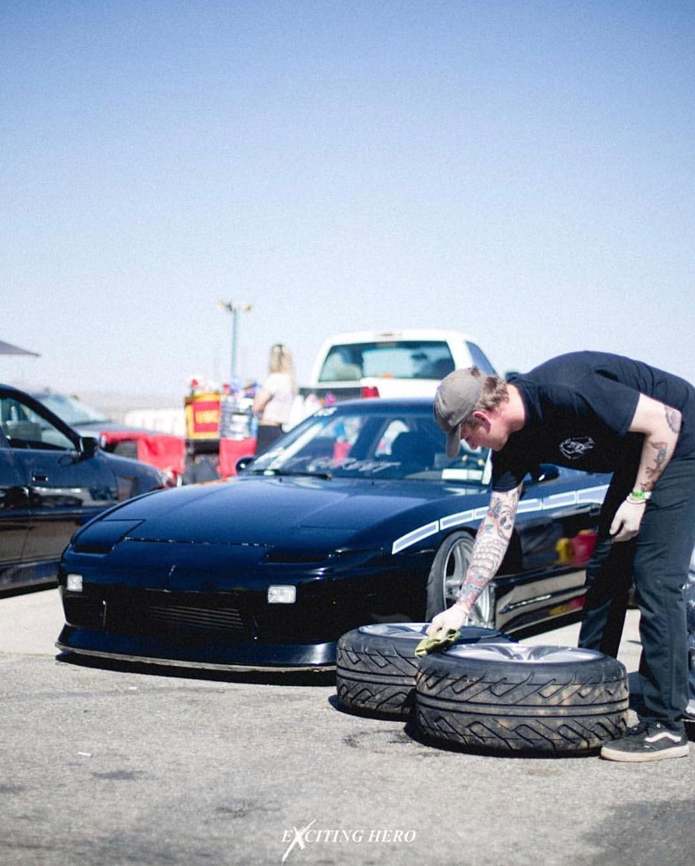 Machine Check(RPS13) - Engine: fully built s13 Sr20det , gen 2 gtx 2867r with a Silk Road Manifold with nismo injectorsDrivetrain: stock Sr trans and soild drive shaft, all stance suspension arms , and stance coilovers , soild subframe bushings , modified front knuckles and subframeAero: 30 mm origin rear overs vertex aero body kit , 180sx type x wingWheels: Avs model 5's 17x9 +22, 18x10 +19Interior: 2 bride zeta 2 seats, D max floor mats, full 6 point cage with full oem s13 aero