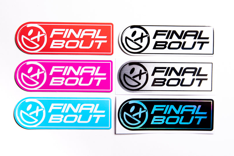 Final Bout Smiley Badge [Color Options]