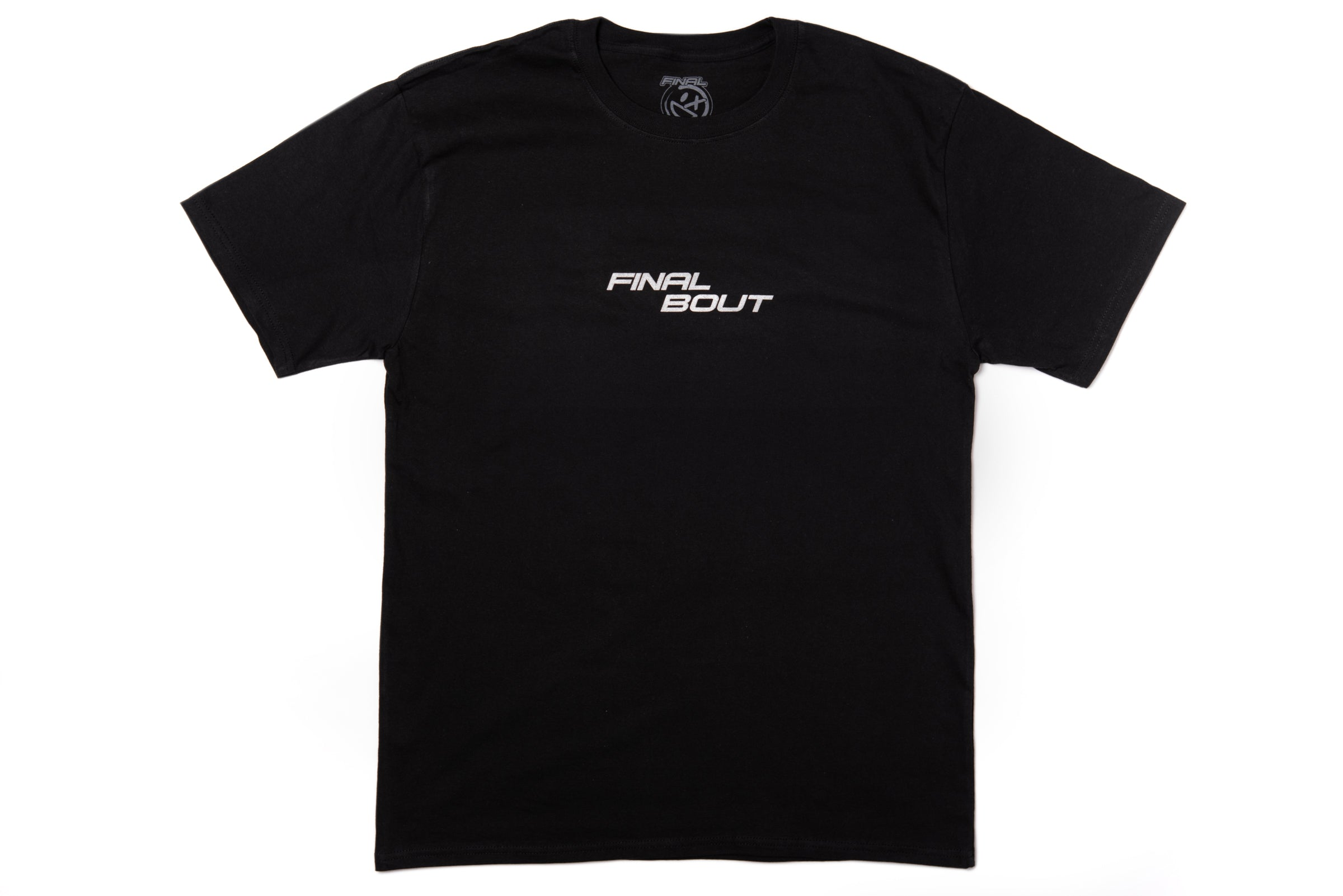 Final Bout Logo Tee [Black/Metallic Silver]