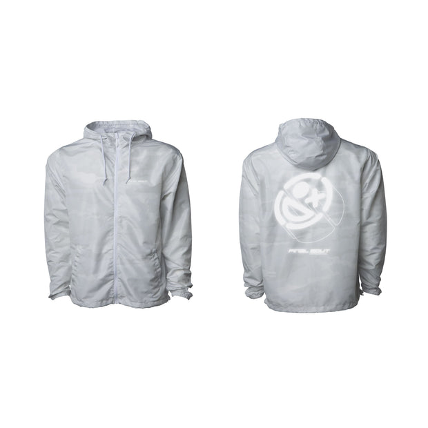 Final Bout Jacket ~ [ White Camo - Reflective Print ]