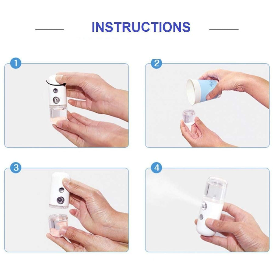 Mini Automatic Sanitizer Spray Bottle