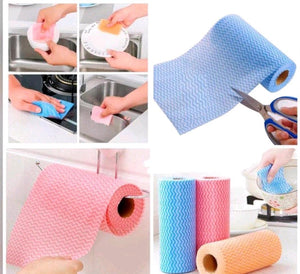 Reusable non woven kitchen roll