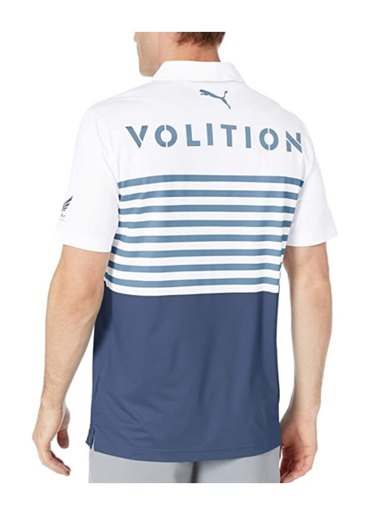 푸마 플래그 로고 폴로 셔츠 Puma Volition Ck6 Flag Polo - WOODHOODGOLF