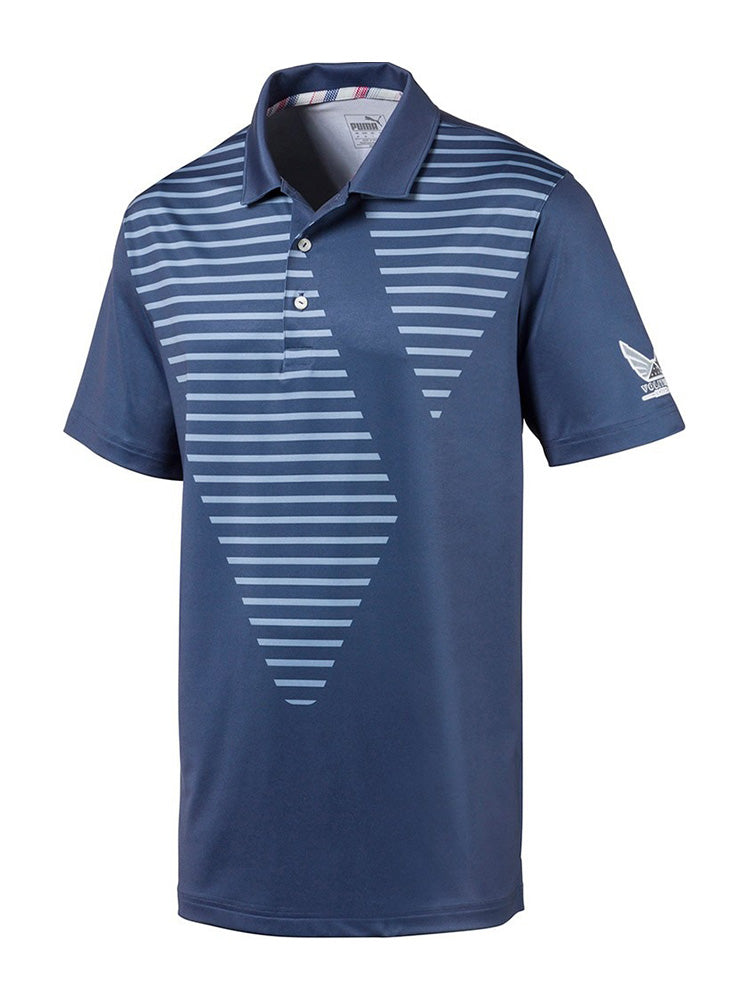 푸마 스카이 폴로 셔츠 Puma Volition Sky Polo - WOODHOODGOLF