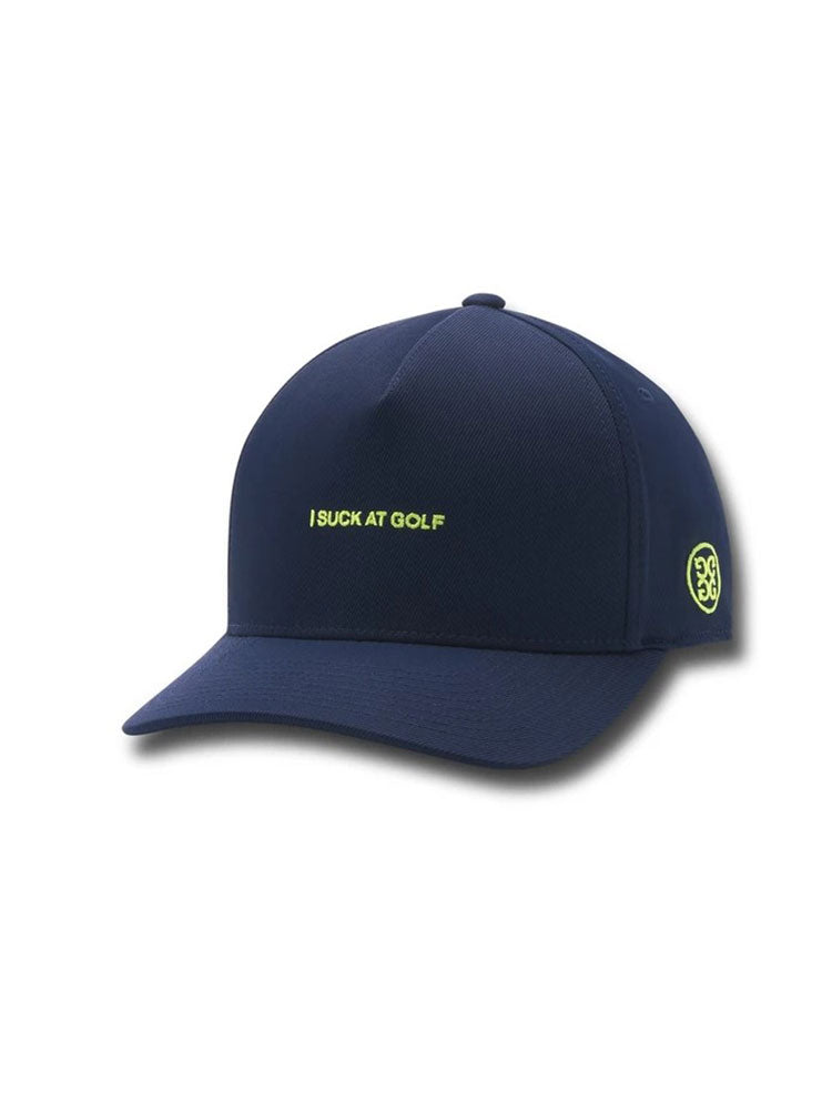 지포어 I Suck At Golf  골프 모자 I Suck At Golf Snapback - WOODHOODGOLF