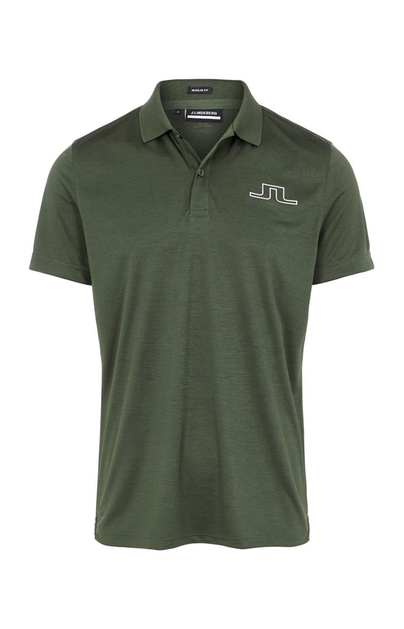 제이린드버그 브릿지 레귤러 핏 폴로 J Lindeberg Bridge Regular Fit Golf Polo  (Thyme Green Melange)