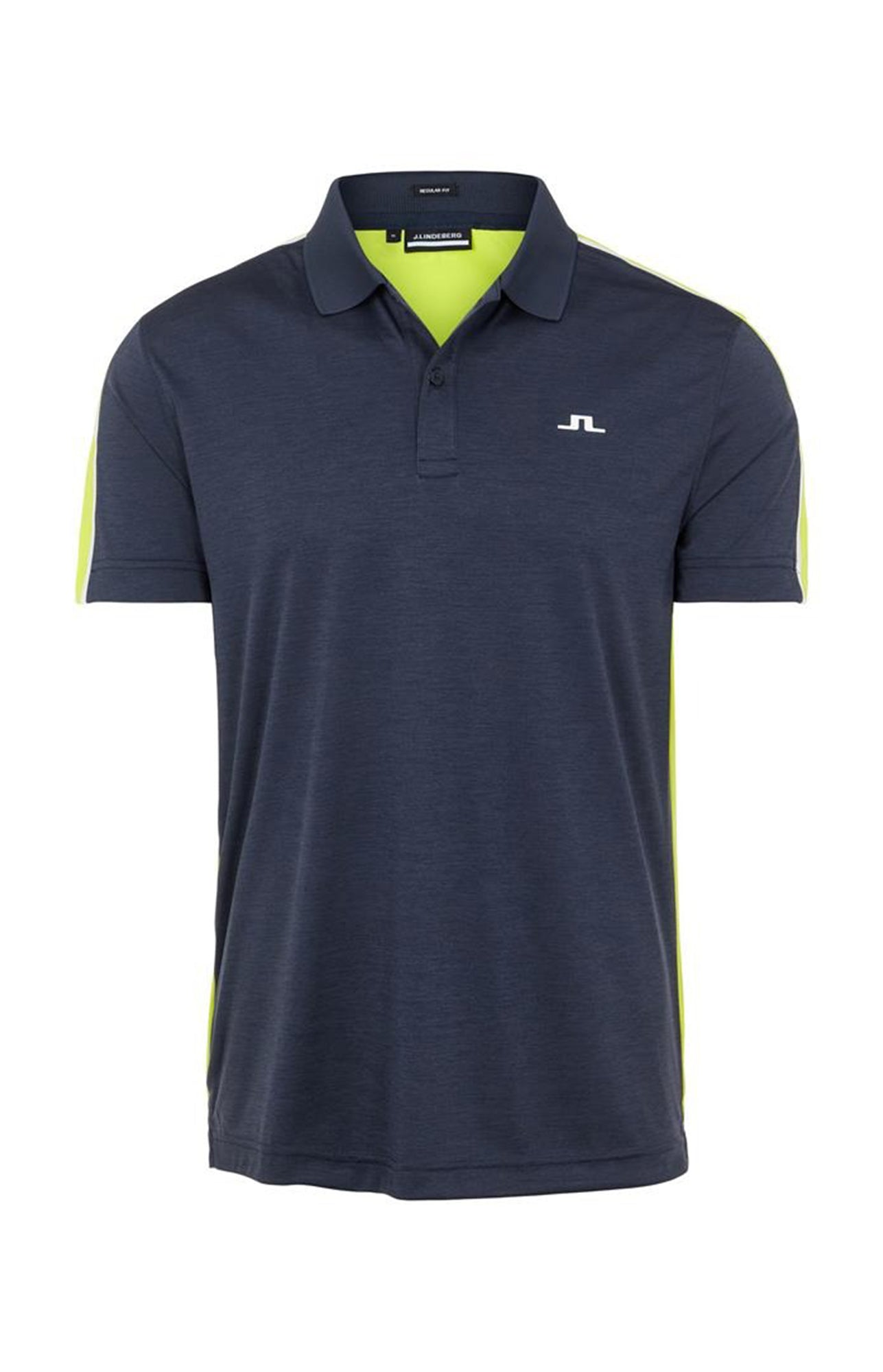 제이린드버그 플린 레귤러 핏 폴로 J Lindeberg Flinn Regular Fit Golf Polo - Leaf Yellow
