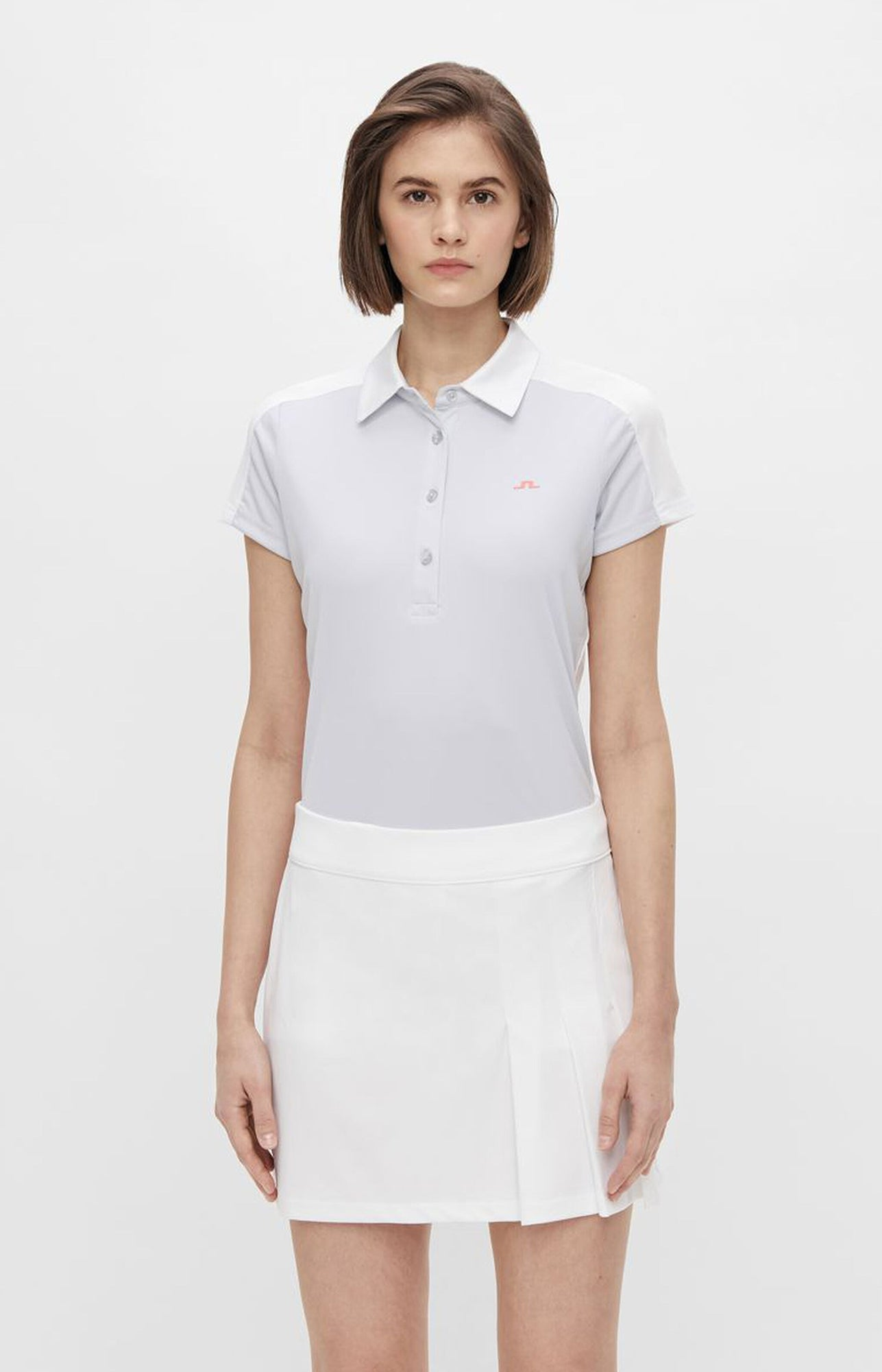 제이린드버그 씨쎄 폴로 J Lindeberg Cicce Golf Polo - Light Grey