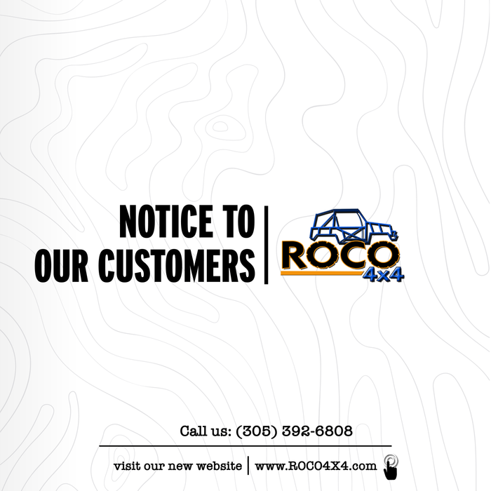 NOTICE TO OUR CUSTOMERS