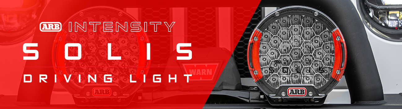 New Solis Intensity Driving Lights from ARB