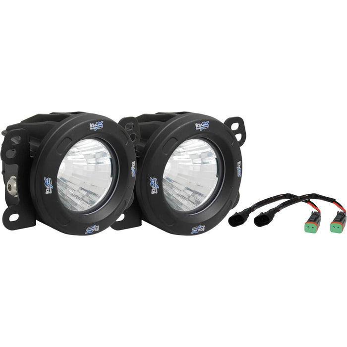2007-2009 Jeep JK Fog Light Upgrade Kit (with Optimus LED Light)