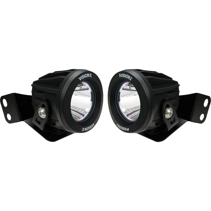 2008-2019 Polaris RZR A-Pillar Optimus Mounts (with Lights)