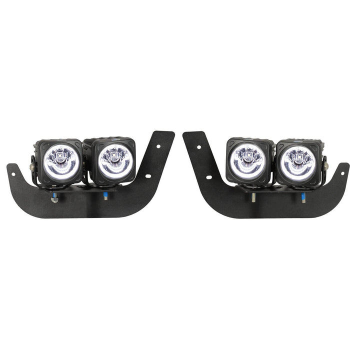 2009-2017 Dodge Ram 2500/3500 Fog Light Kit (with 4 XIL-OPH115KIT)