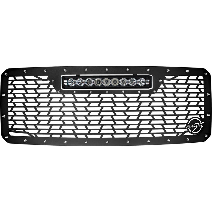 2011-2016 Ford SuperDuty Light Bar Grille (with XPR-9M)